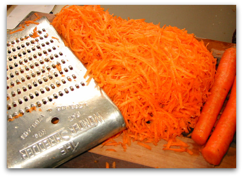 2010 04 27 blog carrot shredded This Kitchens Best Carrot Salad Recipe